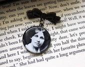 Louisa May Alcott pin