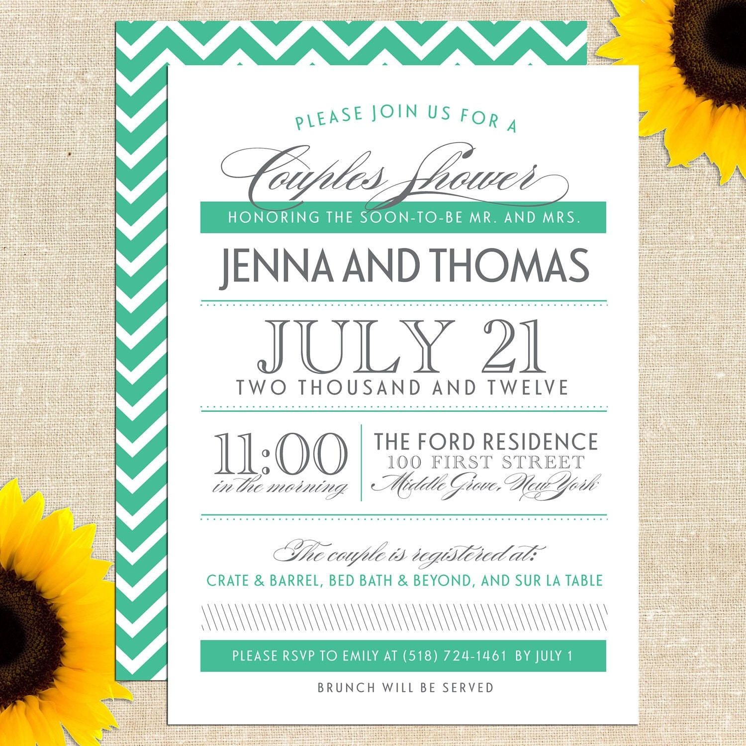 Couples Baby Shower Invite is good invitation template
