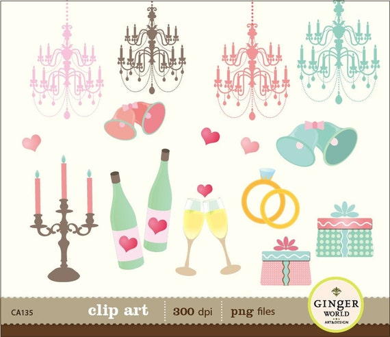 free wedding scrapbook clipart - photo #7