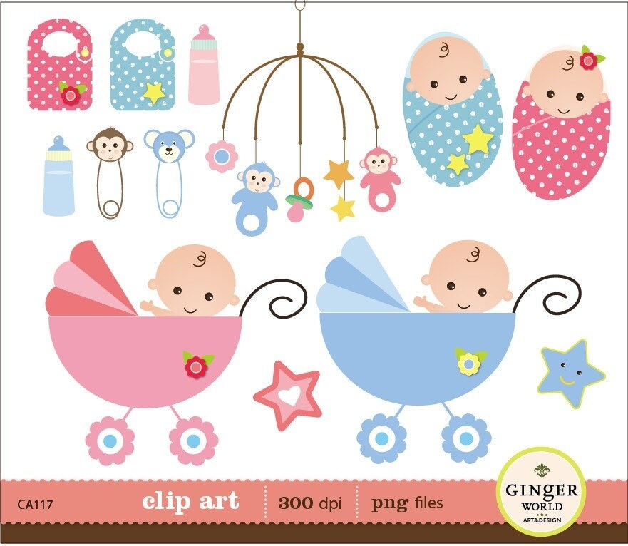 baby girl clipart shower - photo #26