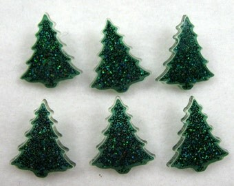 Christmas Tree Buttons