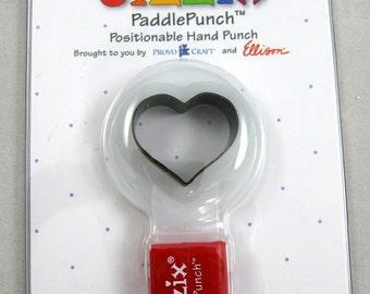 Sizzix Paddle Punch Heart No.1  38-0819