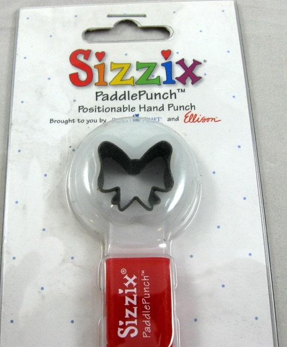 Sizzix Paddle Punch Bow 38 0853