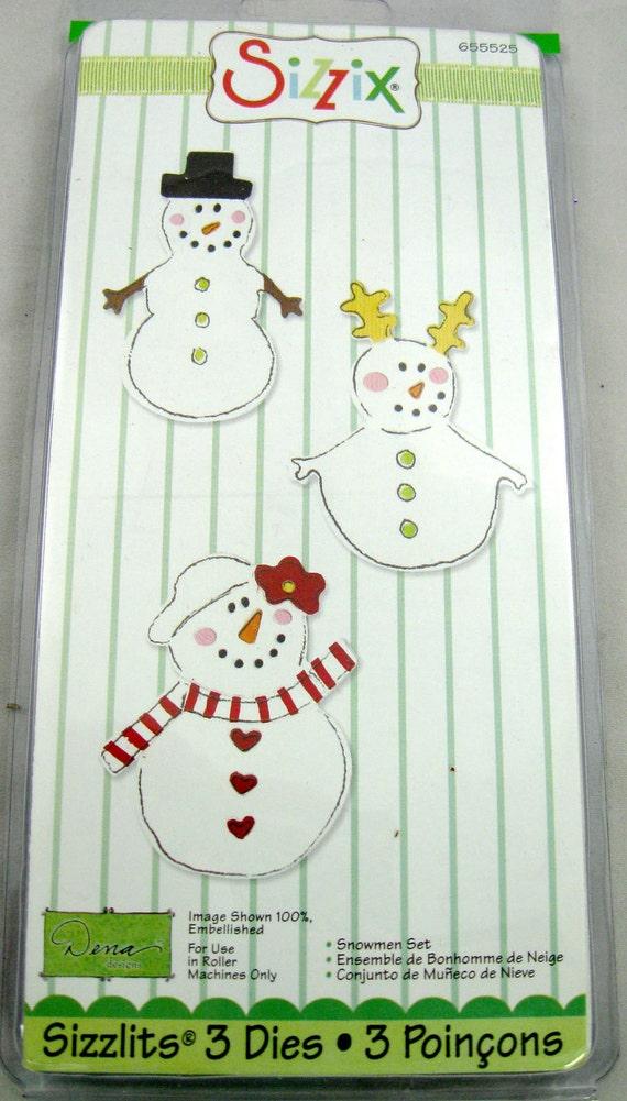Sizzlits Snowman Set No. 655525