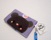 Pudding Mouse Card Wallet credit buisness gift cards