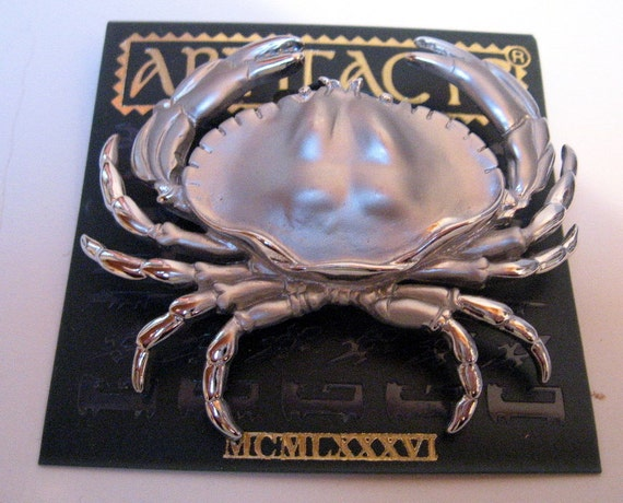 Jonette Jewelry Vintage Crab Pin