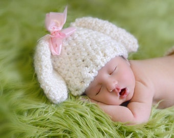Newborn Lamb Hat