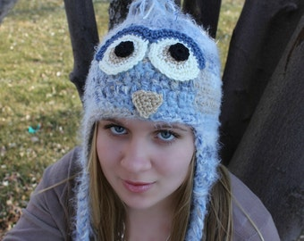 Owl Hat for Toddler to Teens