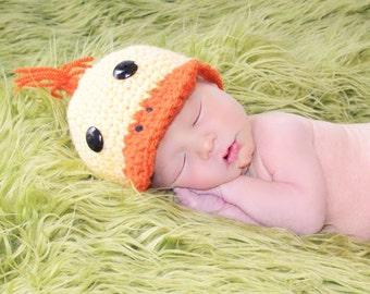 Baby Duck Hat