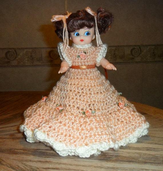 CLEARANCE crochet air freshener doll, home decor