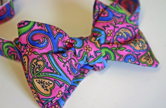Pink Bennett Bow Tie - Limited Edition