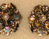 Vintage Signed Tammey Jewels  Earrings