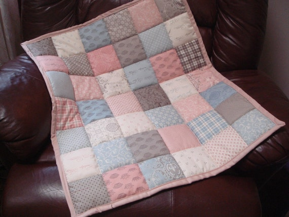 Beautiful Baby Quilt, Soft and Sweet