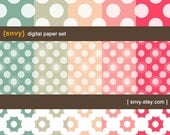 Digital Paper Pack (Set of 15 Papers) for Scrapbooking, card making, invitation, photo cards - Personal and Commercial Use - 100000A