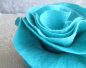 """SALE..... Nuno felted scarf """"Antilles Laguna"""" ready to ship OOAK eco friendly aqua water fashion  from Europe with love"""