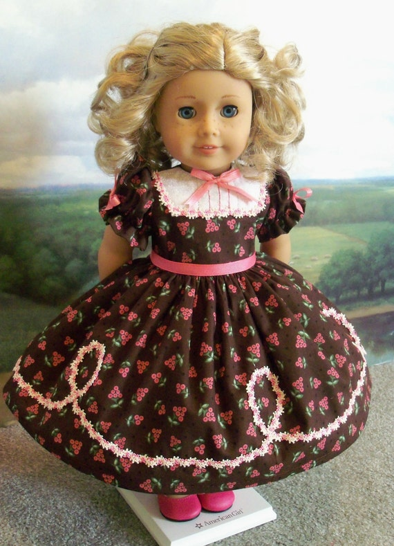 Special Occasion Dress for Cecile, Marie-Grace, Addy  / Clothes for American Girl Dolls,Cecile, Marie-Grace