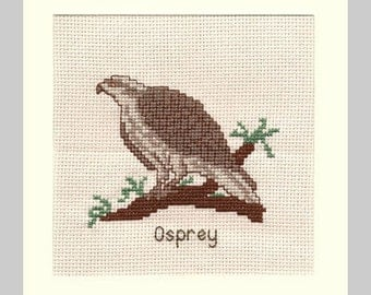Picture ~ Osprey Bird in Cross Stitch (7160)