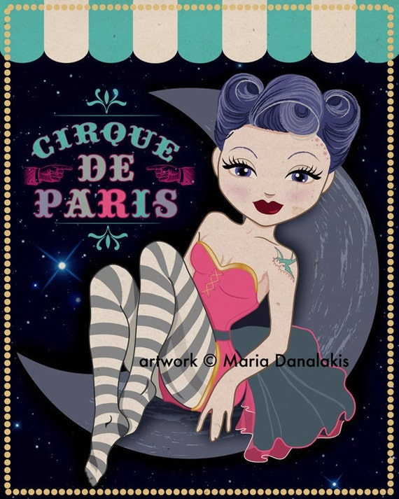 CIrque De Paris Pin Up