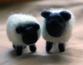 Sheep Needle Felted Figurines