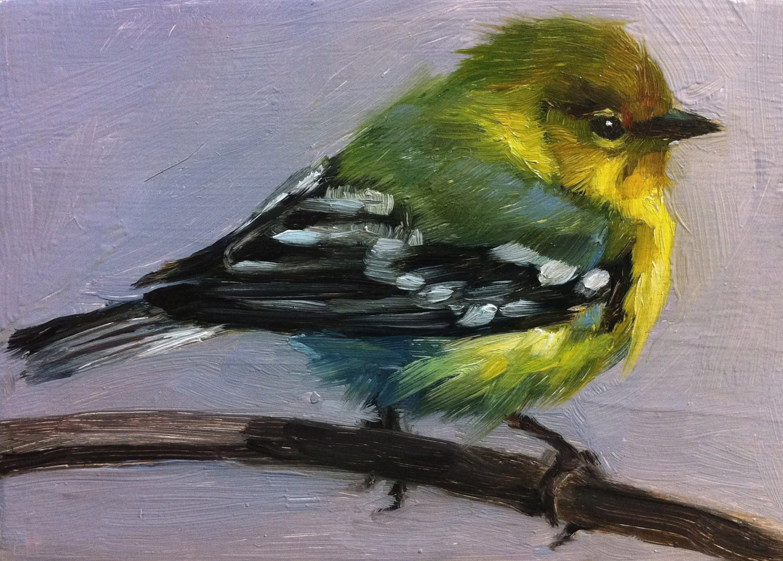 Bird painting | Etsy