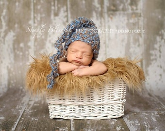PDF Instant Download Easy Crochet PATTERN No 212 Swirl Hat Photography Prop Sizes preemie, newborn, 0-3, 3-6 months