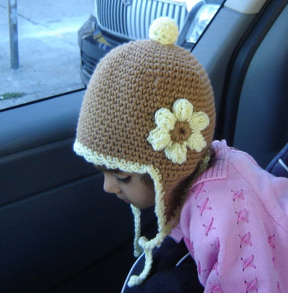 PDF Instant Download Crochet Pattern No027 Earflap Hat all