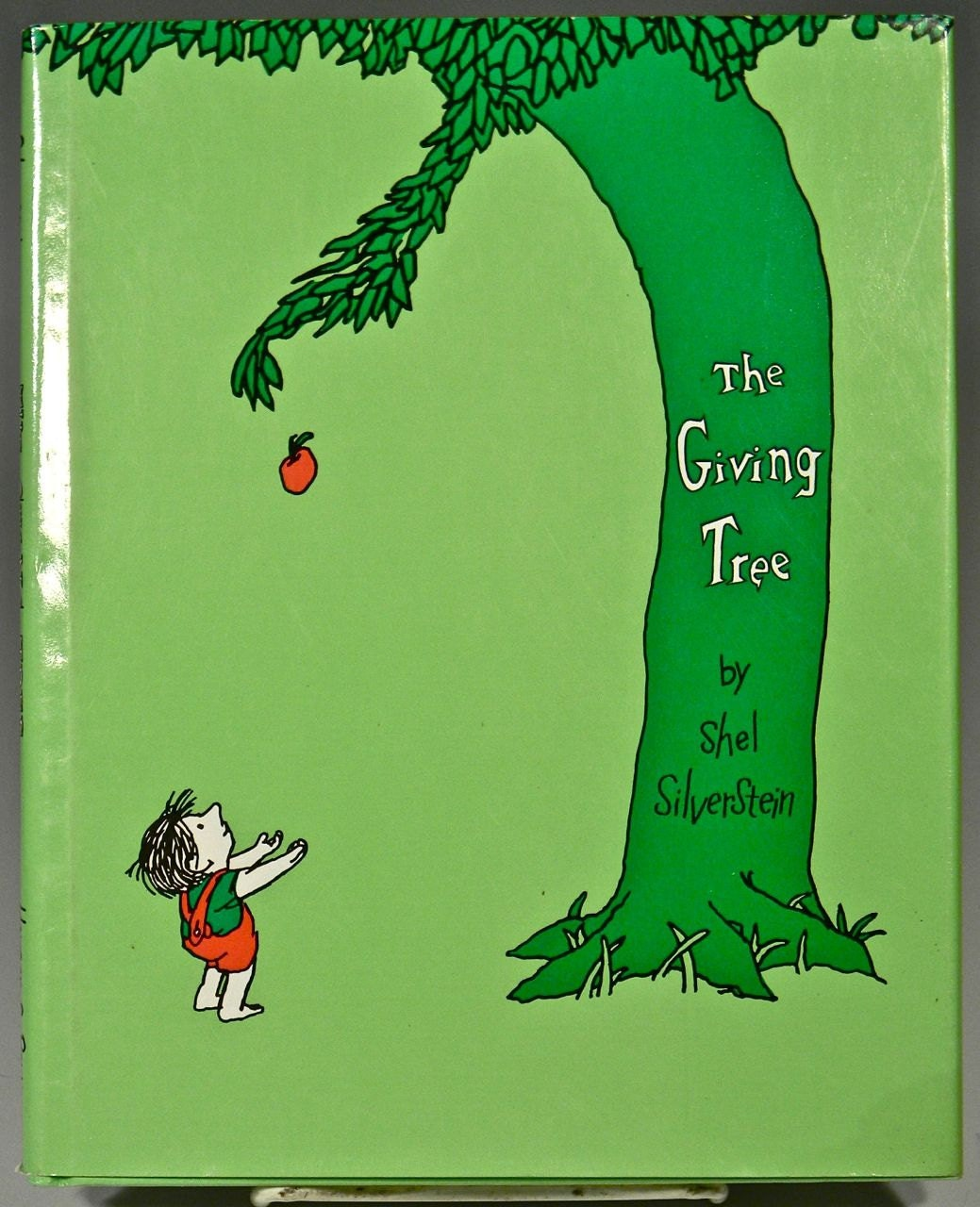 Children's Book THE GIVING TREE by Shel by DANCINGFAUNEMPORIUM