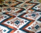 Vintage southwest Design blanket