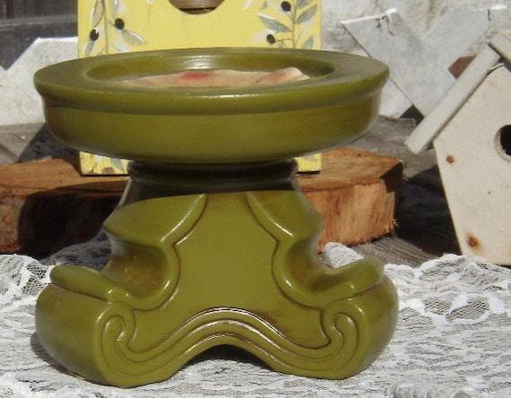 Mid Century Mod Pillar Candleholder