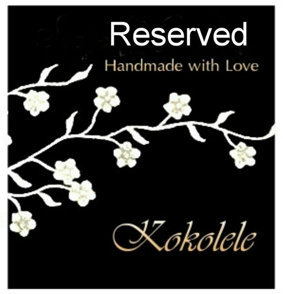 RESERVED -Kokoreus Soap - Set of 5 soaps