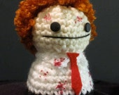 Shaun of the Dead ONE OF A KIND Amigurumi Doll
