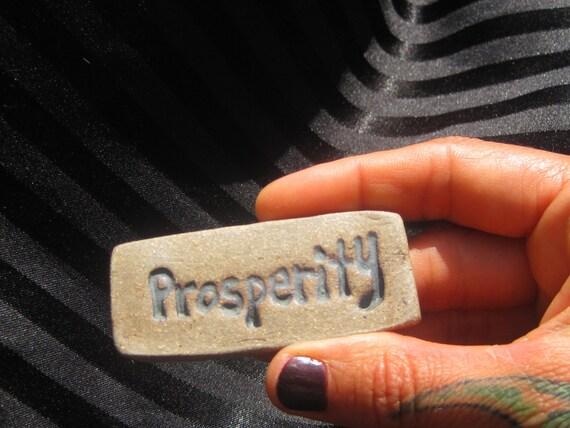 Lucky Pocket Stone PROSPERITY