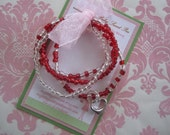 Girls bracelet - valentines day bracelets - girl jewelry