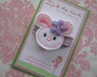 Easter hair clips - girl hair clips - Easter barrettes - girl barrettes