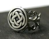 Celtic Knot Ring - Adjustable