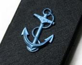 SALE iPhone 3G or 3GS Blue Nautical Anchor Hard Case