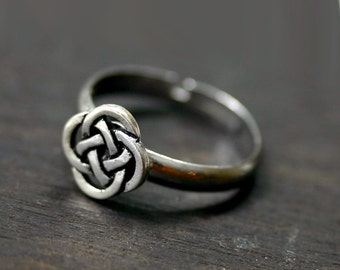 Celtic Ring - Eternity Love Knot Infinity Ring