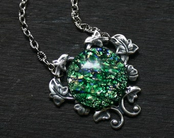 Green Opal Necklace