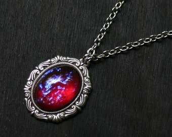 Dragon Breath Mexican Fire Opal Cameo