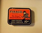 Fixaco Vintage Tin, 1920's (empty)