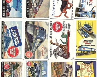 Missouri Pacific Lines Vintage Pocket Calendars SET, 1940s