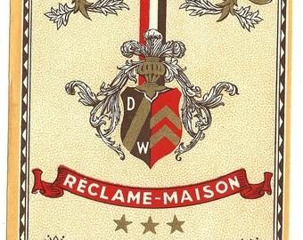 Fine Reclame-Maison Spiritueux Vintage  Label, 1950s