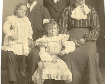 Bygone Era Family Photograph