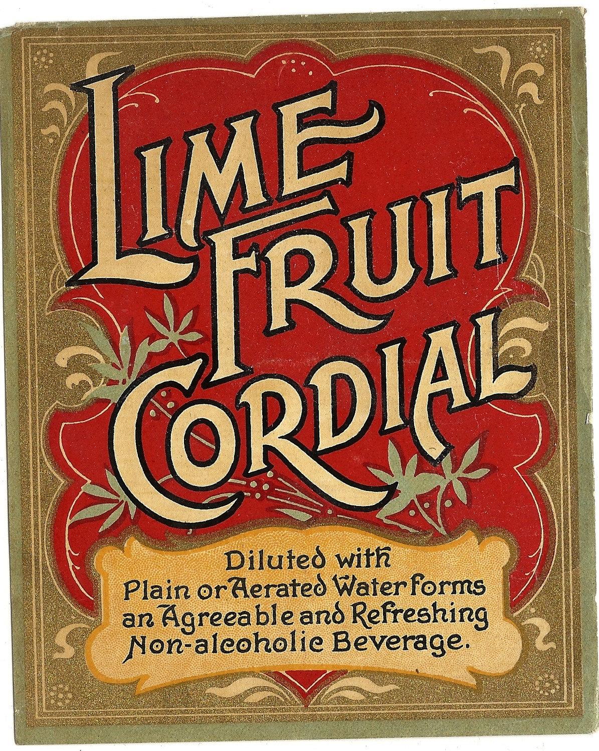 Lime Cordial, Three Ways Recipes — Dishmaps