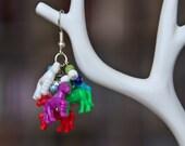 Plastic Fantastic Pony Earrings
