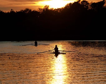 Rowing on the Charles
