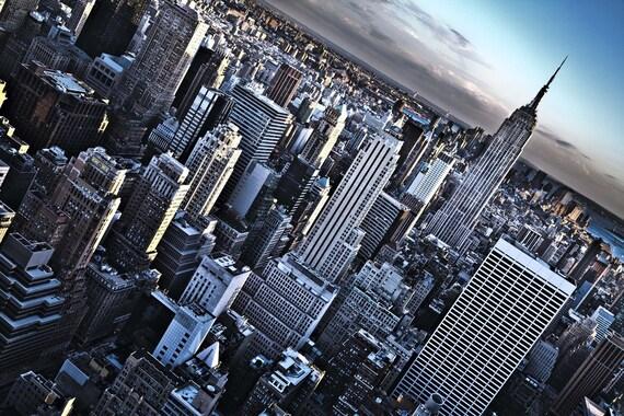 Slanted Skyline NYC