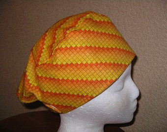 FREE US Shipping..Surgical Scrub hat w/velcro closure