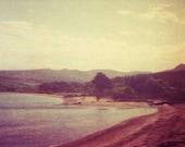 6x4inch Purple Nostalgic Shore Lomo Photo Print