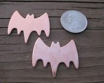 BAT Quantity 2 Copper shapes for enameling